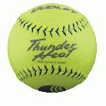 Dudley .40 Core Classic W Thunder Heat 325lb 11 Yellow Softballs Cover Synthetic 1 Doz USSSA Softballs