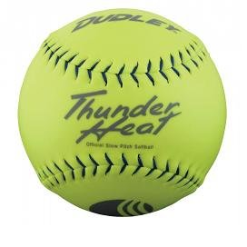 dudley-40-core-classic-w-thunder-heat-325lb-11-yellow-softballs-cover-synthetic-1-doz-usssa-softballs 4U544Y   Dudley .40 Core Classic W Thunder Heat 325lb 11 Yellow Softballs