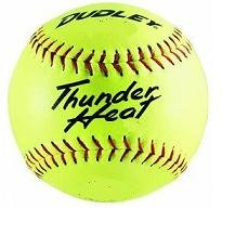dudley-thunder-heat-12-asa-fastpitch-softballs-composite-cover-cor-47-compression-375lbs-1-doz 4A132Y  026307431323 Dudley Thunder Heat 12 ASA Fastpitch Softballs Composite Cover COR 47