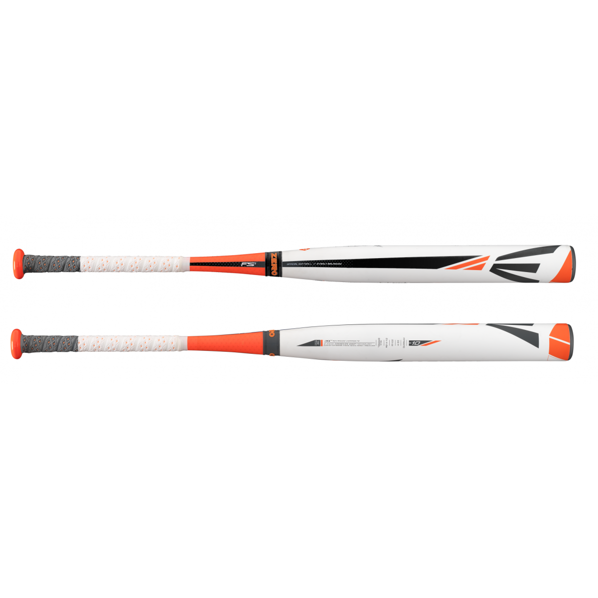 Easton Fast Pitch Softball Bat CXN Zero 2-Piece Composite Speed Design with extra long barrel. TCT Thermo Composite Technology offers a massive sweet spot and unmatched bat speed. All new CXN ZERO 2-piece Conation technology engineered for zero vibration and ultimate performance.