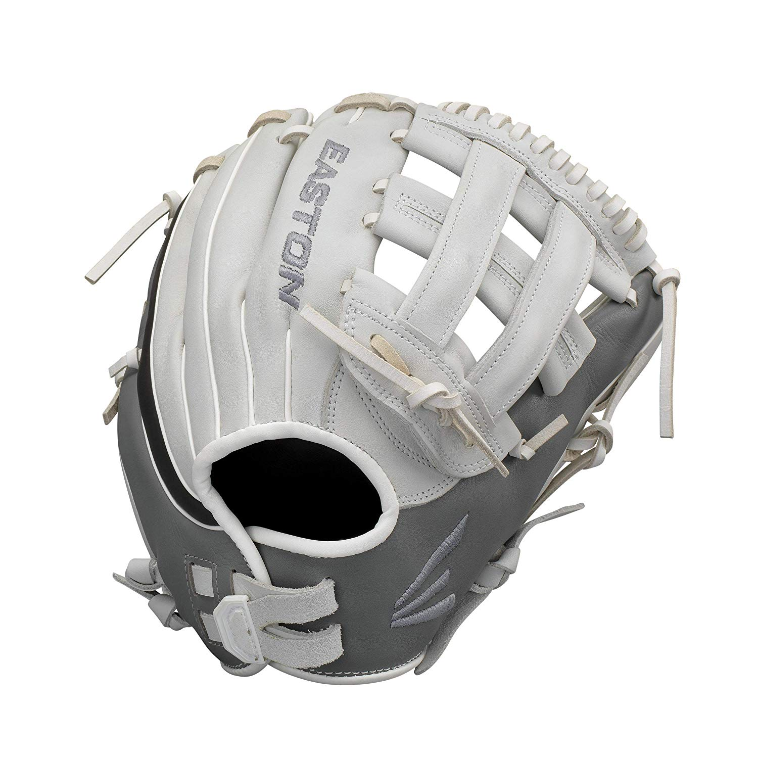 easton-ghost-fast-pitch-softball-glove-11-75-right-hand-throw GH1176FP-RightHandThrow Easton 628412269978 Premium Steer USA leather Quantum Closure SystemTM provides adjustable hand opening