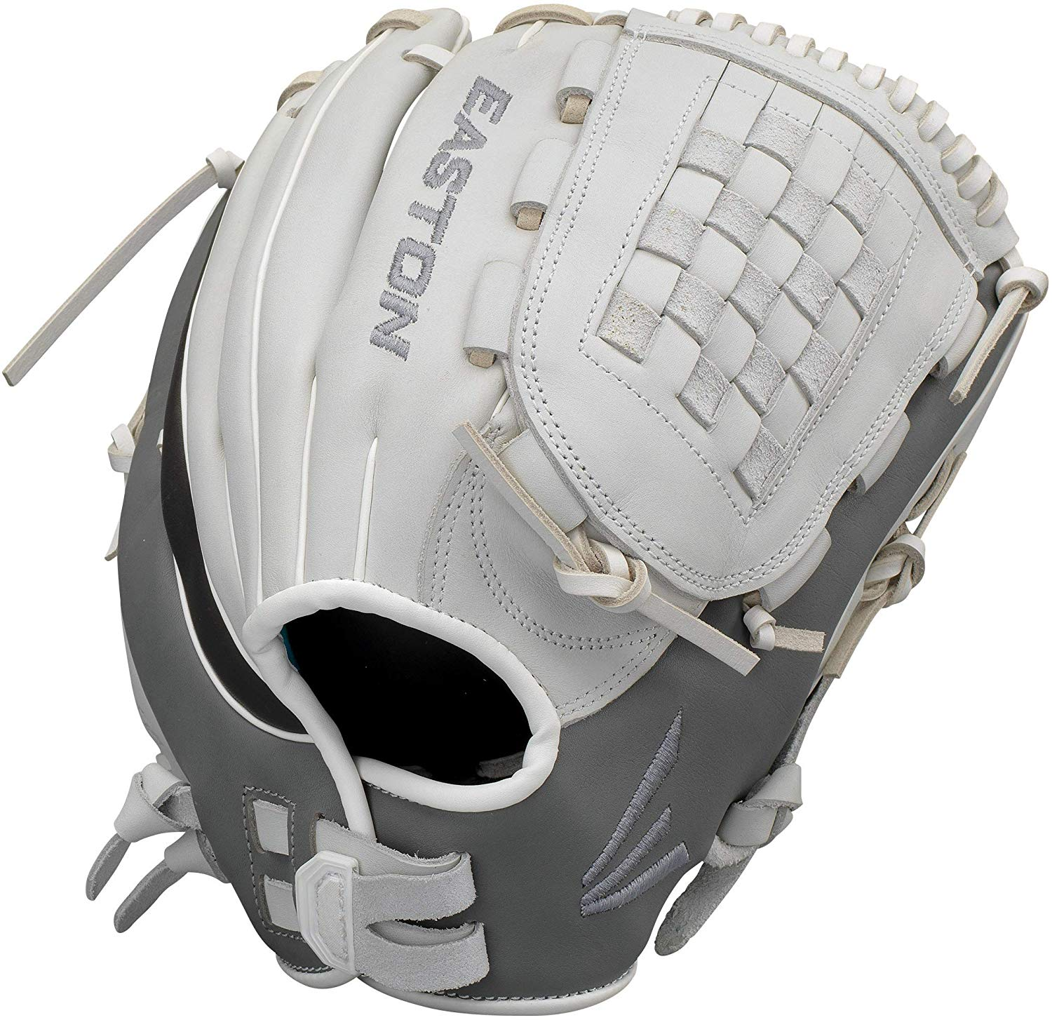 easton-ghost-fastpitch-softball-glove-12-5-right-hand-throw GH1251FP-RightHandThrow Easton 628412269954 Premium Steer USA leather Quantum Closure SystemTM provides adjustable hand opening