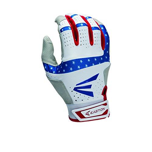 easton-hs9-stars-and-stripes-batting-gloves-1-pair-medium A121840-Medium Easton New Easton HS9 Stars and Stripes Batting Gloves 1 Pair Medium