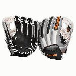 Easton's EMK 1150LE Mako Series 11.5 Inch Infield Glove is made of Japanese Seto leather and features a medium depth pocket and double X lacing increases strength that minimizes lace break.