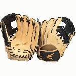 Easton Pro Baseball Glove EPG459WB 11.5 inch (Right Hand Throw) : Professional Series gloves from Easton are the product of quality craftsmanship and are meant to be worn by serious ball players. These gloves start out as high quality USA steer hide and are Japanese tanned into professional grade Seto leather. The result is a soft, smooth, and incredibly durable ball glove. The inside of these gloves is made from Pro Fit steer hide which is built soft for comfort, yet strong for the rigors of professional level play. These gloves are held together by professional grade USA-tanned rawhide lace that is tested to a tensile strength of 100 lbs! That means that the chance of the laces on these gloves breaking is slim to none. This is a glove that will last for many seasons to come. 11.5 Inch Model I Web Open Back Japanese Tanned Seto Leather Made From Strong USA Steer Hide Pro Fit Steer Hide Lining Professional Style Design USA Tanned Rawhide Lacing - 100 LB Tensile Strength