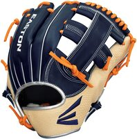 "spanStep on to the field like a Pro with Easton's all-new Professional Reserve Collection Alex Bregman Game Spec ball glove. This exact on-field 11.75"" single post model, used by Houston infielder and world champion Alex Bregman, is meticulously crafted with a Premium Reserve steer hide leather shell back and palm lining. The padded wrapped thumb and pinky loops, and a luxurious sheep wool shearling fur wrist liner, provide players with best-in-class comfort and control. The Alex Bregman Game Spec glove features a deep pattern shape with increased pocket width and pro grade rawhide laces. Ramirez (C43JR) - Step on to the field like a Pro with Easton's all-new Professional Reserve Collection José Ramírez Game Spec ball glove. This exact on-field 12"" H-web model, used by Cleveland infielder José Ramírez, is meticulously crafted with a Premium Reserve steer hide leather shell and palm lining. The padded wrapped thumb and pinky loops, and a luxurious sheep wool shearling fur wrist liner, provide players with best-in-class comfort and control. The José Ramírez Game Spec glove features a neutral pattern shape with medium pocket depth and pro grade rawhide laces. Diaz (D46ED) - Step on to the field like a Pro with Easton's all-new Professional Reserve Collection Edwin Diaz Game Spec ball glove. This exact on-field 12"" Finger Sleeve Dual Hinge model, used by New York Mets pitcher Edwin Diaz, is meticulously crafted with a Premium Reserve steer hide leather shell and palm lining. The padded wrapped thumb and pinky loops, and a luxurious sheep wool shearling fur wrist liner, provide players with best-in-class comfort and control. The Edwin Diaz Game Spec glove features a deep pattern shape with increased pocket width and pro grade rawhide laces./span"