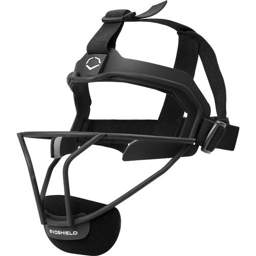 evoshield-fastpitch-defenders-mask-black 2144250.001.OSFM  840041109771 Personalized comfort through customizable cheek and chin pieces Four points of