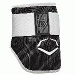 evoshield mlb batters speed stripe elbow guard black youth