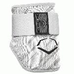 evoshield mlb batters speed stripe elbow guard white adult