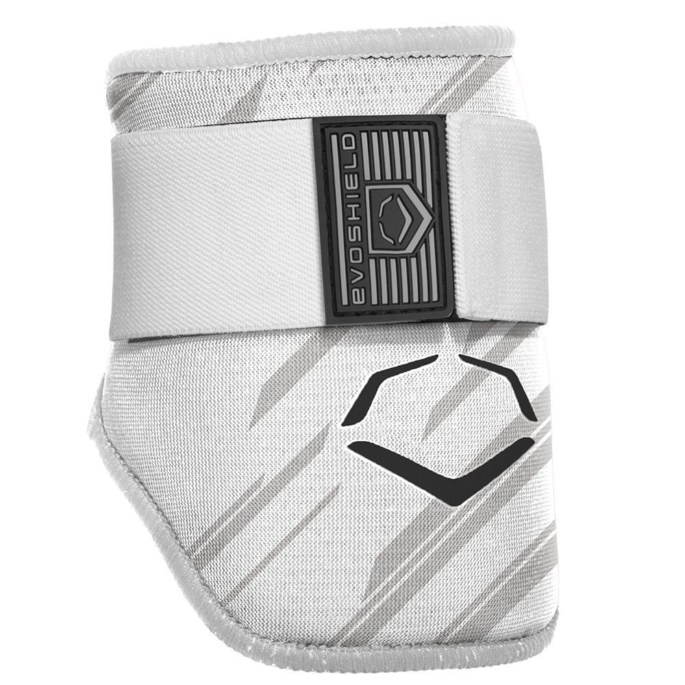 evoshield-mlb-batters-speed-stripe-elbow-guard-white-adult WTV2046120113  840041114898 The protective batters Elbow guard features a redesigned covering offering a