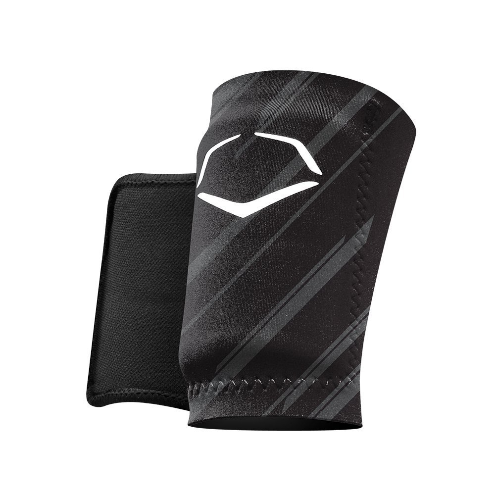 evoshield-mlb-protective-speed-stripe-wrist-guard-black-medium WTV2045150003M  y EvoShield MLB Speed Stripe Wrist Guard• Baseball batters protective wrist guard•