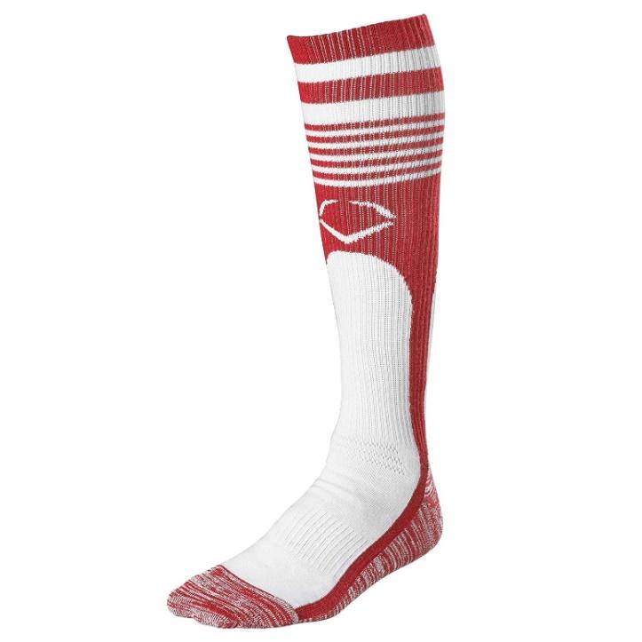 evoshield-throwback-game-socks-scarlet-large WTV4448SCL