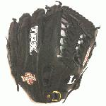 Louisville Slugger 11.5 Omaha Crossover Series Black Modified Trap Web Baseball Glove. Crossover Series for youth player crossing over to more competitive level of play.