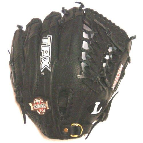 louisville-slugger-11-5-omaha-crossover-youth-baseball-glove-right-hand-throw OCX1150B Louisville 044277929725 Louisville Slugger 11.5 Omaha Crossover Series Black Modified Trap Web Baseball