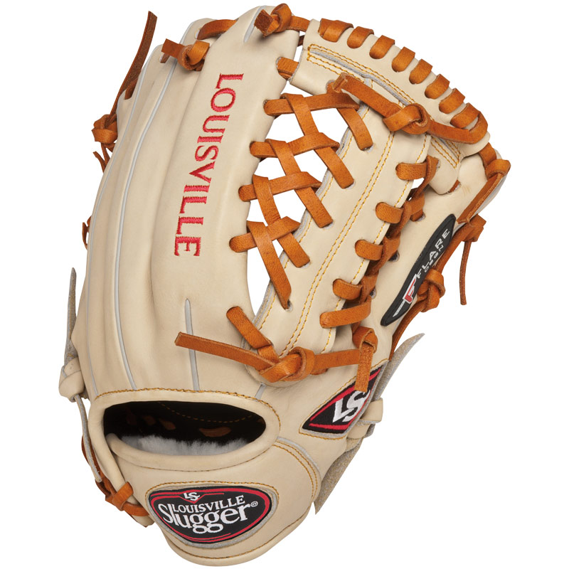 louisville-slugger-11-75-inch-fg-pro-flare-baseball-glove-left-hand-throw FGPF14-CR117-Left Handed Throw Louisville 044277006662 Louisville Slugger Pro Flare gloves are designed to keep pace with
