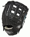 louisville slugger 11 75 inch fg xeno softball infielders gloves black right hand throw