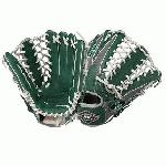 Louisville Slugger 12.75-Inch TPX HD9 Hybrid Defense Ball Glove (GreenGray) (Right Hand Throw) : The XH1275GG is a 12.75 outfield model with a conventional open back and a pro trap web. The HD9 Hybrid Defense series is an elite line of fielding gloves from Louisville Slugger that utilizes a zero-gravity performance mesh back that provides a quick break-in and ultra lightweight feel. This glove is greengray.