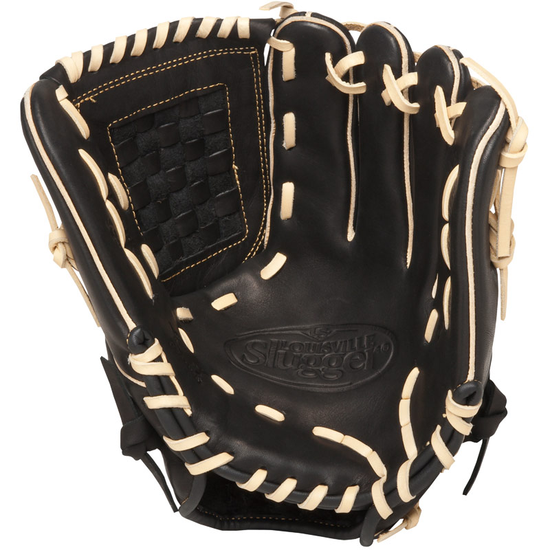 louisville-slugger-12-inch-fg-omaha-flare-baseball-glove-left-hand-throw FGOF14-BK120-Left Handed Throw Louisville 044277007072 The Louisville Slugger Omaha Flare series baseball glove combines Louisville Sluggers