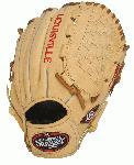 Louisville Slugger 125 Series 12 Inch Baseball Glove model number FG25CR5-1200. The Louisville Slugger 125 Series line of Baseball Gloves is often mistaken for a top-of-the-line professional glove. Built for superior feel and easier break-in, these gloves are game ready and offer superior craftsmanship and are designed specifically for baseball.