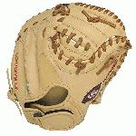 Louisville Slugger 125 Series Cream Catcher's Mitt 32.5 (Right Hand Throw) : Louisville Slugger 125 Series Catchers Mitt. Built for superior feel and an easier break-in period, the 125 Series is constructed with extra-tough dye-through lacing and genuine cowhide leather to provide unmatched strength and durability while wicking away perspiration with our Slugger Touch finger lining.