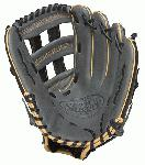 Louisville Slugger 125 Series Gray 12.5 inch Baseball Glove (Right Handed Throw) : Built for superior feel and an easier break-in period, the 125 Series is constructed with extra-tough dye-through lacing and genuine cowhide leather to provide unmatched strength and durability while wicking away perspiration with our Slugger Touch finger lining.