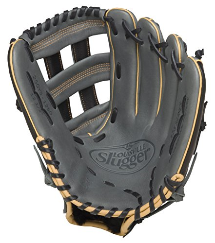 louisville-slugger-125-series-gray-12-5-inch-baseball-glove-right-handed-throw FG25GY5-1250-Right Handed Throw Louisville New Louisville Slugger 125 Series Gray 12.5 inch Baseball Glove Right Handed