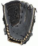 Louisville Slugger 125 Series Gray 12 inch Baseball Glove (Right Handed Throw) : Built for superior feel and an easier break-in period, the 125 Series is constructed with extra-tough dye-through lacing and genuine cowhide leather to provide unmatched strength and durability while wicking away perspiration with our Slugger Touch finger lining.
