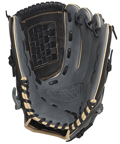 louisville-slugger-125-series-gray-12-inch-baseball-glove-right-handed-throw FG25GY5-1200-Right Handed Throw Louisville Slugger New Louisville Slugger 125 Series Gray 12 inch Baseball Glove Right Handed