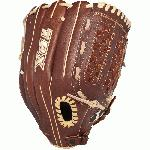 "Genuine steerhide leather for strength and durability Oil-treated leather for a great feel and easier break-in Slugger Touch finger linings wick away perspiration from the player's hand for control and comfort Dye-through lacing for durability Professional inspired patterns 12 12 outfieldpitcher pattern Closed back with finger hole ""Checkmate"" web"