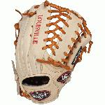 Louisville Slugger 13 Inch FG Pro Flare Baseball Glove Outfielder Cream Right Hand Throw