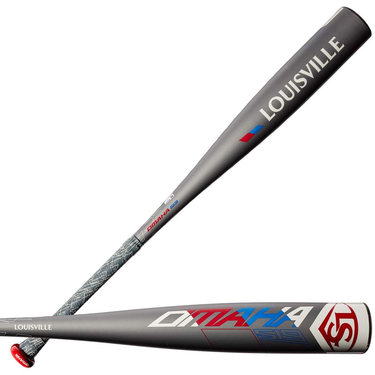 louisville-slugger-2019-omaha-519-5-2-5-8-senior-league-baseball-bat-31-inch-26-oz WTLSLO519B531 Louisville 887768729943 Meets USSSA 1.15 bpf standard; 7/8 inch tapered handle 1-piece ST