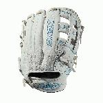 11.75 infield glove Dual post web Memory foam wrist lining White and Aqua blue Female-specific patterns Needing minimal break-in and designed with memory foam wrist lining and patterns specific to female athletes, this 11.75 Xeno infield model features a Dual Post Web construction in a white and aqua blue design. When top-of-the-line leather meets a soft lining, a game-ready glove like no other is born. The Xeno is the perfect combination of style and feel for the young Fastpitch player. - 11.75 inch female specific model - Dual Post web - Top-of-the-line leather - Easy break-in - Memory foam wrist lining