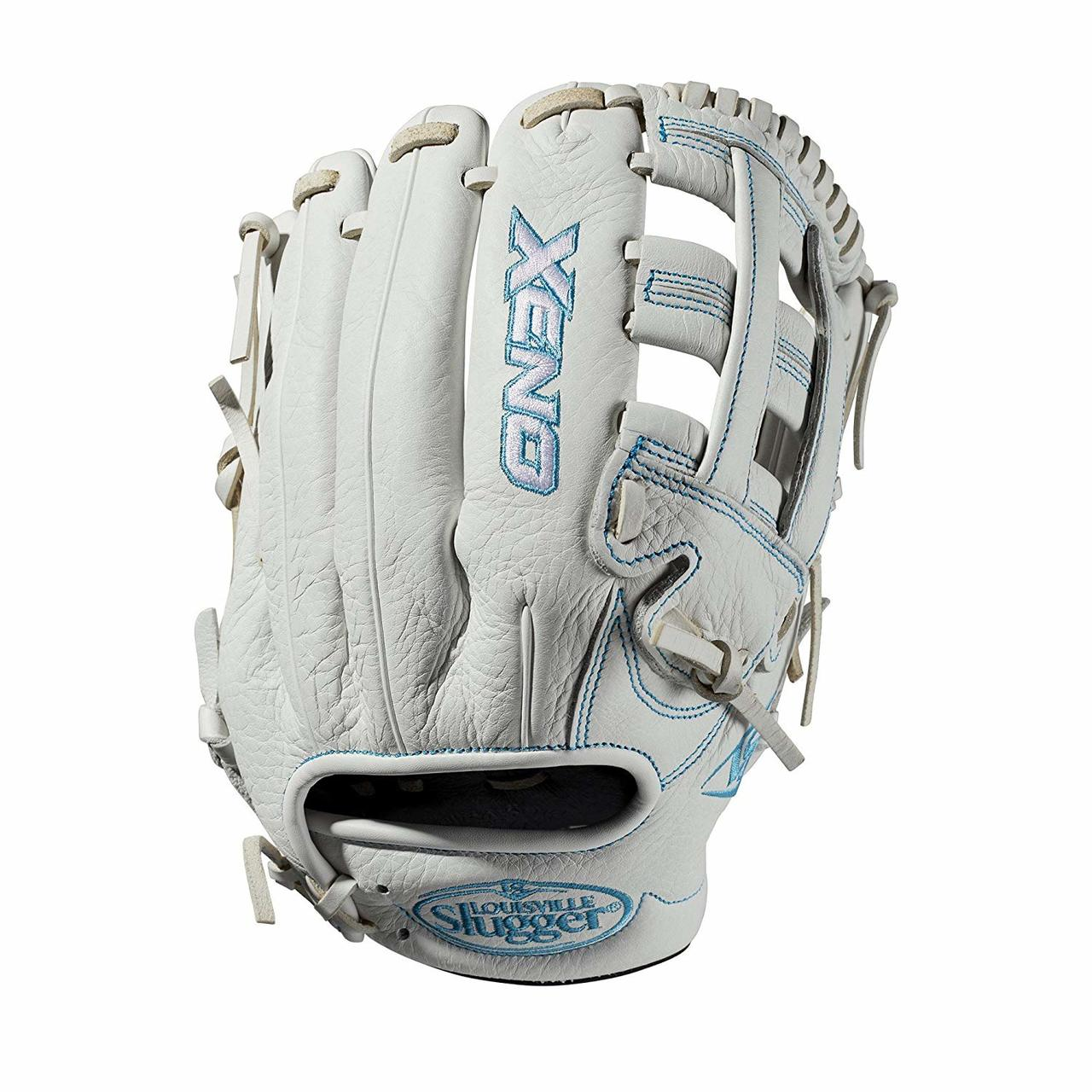 louisville-slugger-2019-xeno-fastpitch-softball-glove-11-75-right-hand-throw WTLXNRF191175-RightHandThrow Louisville 887768711344 11.75 infield glove Dual post web Memory foam wrist lining White