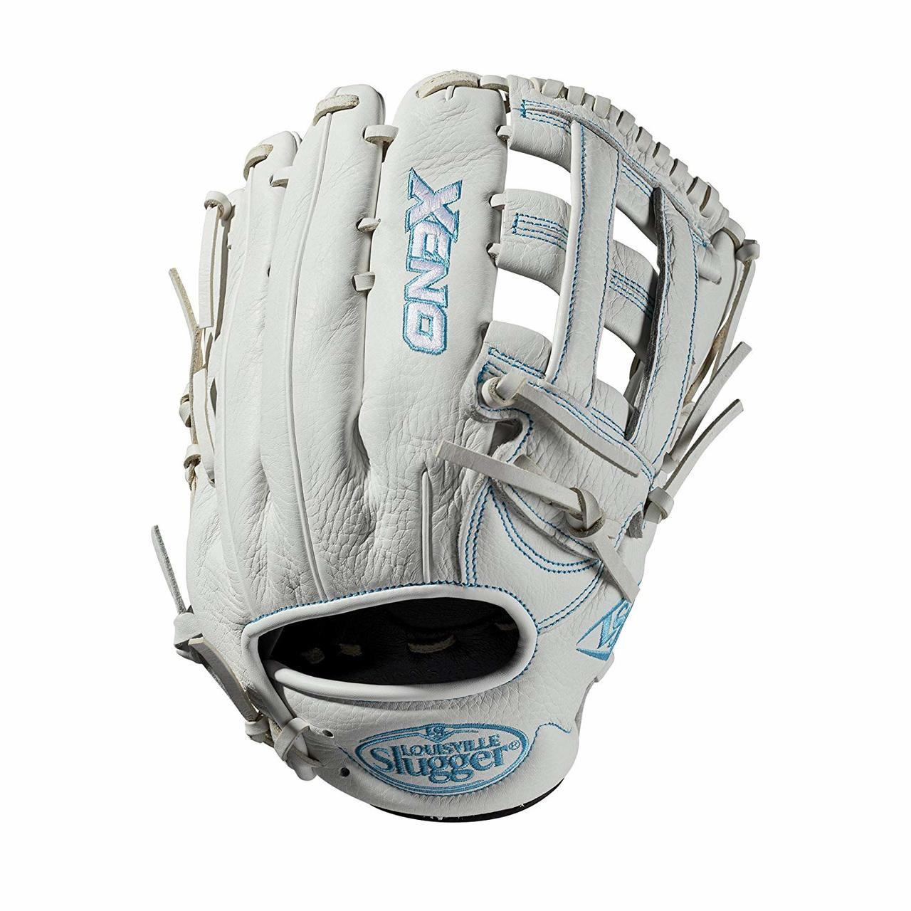 louisville-slugger-2019-xeno-fastpitch-softball-glove-12-75-inch-right-hand-throw WTLXNRF19125-RightHandThrow Louisville 887768711368 12.5 pitchers glove Dual post web Memory foam wrist lining White