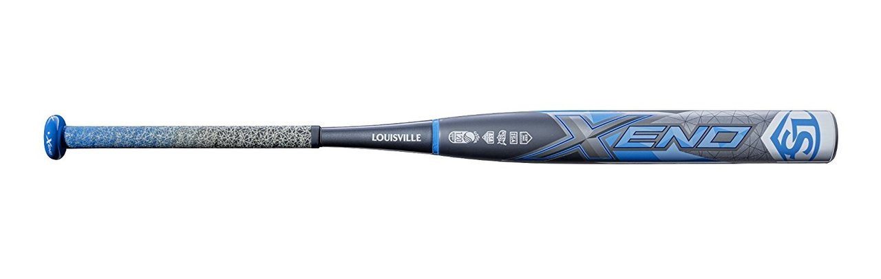 100% Composite Design Patented S1ID Barrel Technology Balanced swing weight New ultra-light weight X-Cap Patented IST 2-piece technology. The most popular bat in fastpitch softball has even more reasons to get excited this season. The 2019 Xeno Fastpitch batfrom Louisville Slugger is a two-piece composite bat with a stiff IST connection that now provides even better energy transfer and less sting upon contact. The bat comes hot right out of the wrapper thanks to Louisville Slugger's patented S1ID™ technology with a balanced swing weight, perfect for all player types. The IST Technology two-piece construction has an improved energy transfer you can feel, and the new ultra-lightweight X-Cap™ now gives players even more swing speed and control at the plate. The 2019 Xeno is available in -8, -9, -10. Up your game with a bat that fits your swing from Louisville Slugger.