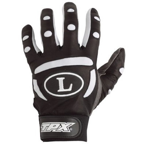 louisville-slugger-bg25-adult-tpx-pro-batting-gloves-1-pair-black-small BG25-BlackSmall Louisville Slugger 044277626877 The BG25 TPX pro design series features a professional pattern with