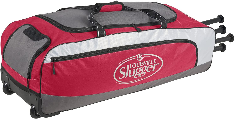 louisville-slugger-eb-series-5-rig-baseball-bag-scarlet EB5WHEELBAG-REDBLACK Louisville
