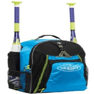 louisville-slugger-eb-xeno-stick-pack-baseball-equipment-bag-hot-blue EBXNSP6-HB Louisville 044277131951 Engineered shape for comfortable female fit Contoured shoulder straps fit athletic