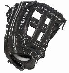louisville slugger fgszbk5 super z black fielding glove 13 5 inch left hand throw