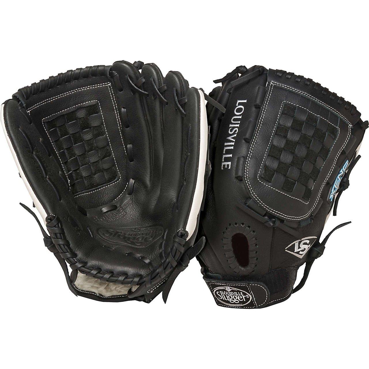 louisville-slugger-fgxn14-bk127-xeno-black-12-75-fastpitch-softball-glove-right-handed-throw FPXN14-BK127-Right Handed Throw Louisville 044277007928 The Louisville Slugger Xeno Fastpitch series softball glove takes best-in-class premium