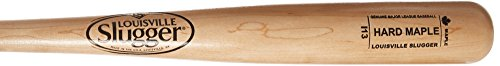 louisville-slugger-hard-maple-wood-baseball-bat-i13-natural-black-33-inch WBHMI13-NB-33 inch Louisville Slugger 044277054687 Louisville Slugger I13 Turning Model Hard Maple Wood Baseball Bat. Performance