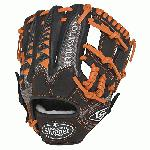 Louisville Slugger HD9 11.25 inch Baseball Glove Orange, Right Hand Throw