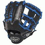 Louisville Slugger HD9 11.25 inch Baseball Glove (Royal, Right Hand Throw) : The HD9 Series is built with revolutionary hybrid leathermeshkanga weave construction for the lightweight performance and durability demanded by high-level players. Offered in many colors, the HD9 series helps each player stand out on the field.