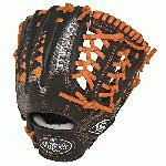Louisville Slugger HD9 11.5 inch Baseball Glove Orange, Right Hand Throw