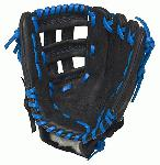 Louisville Slugger HD9 11.5 inch Baseball Glove (Royal, Left Hand Throw) : The HD9 Series is built with revolutionary hybrid leathermeshkanga weave construction for the lightweight performance and durability demanded by high-level players. Offered in many colors, the HD9 series helps each player stand out on the field.