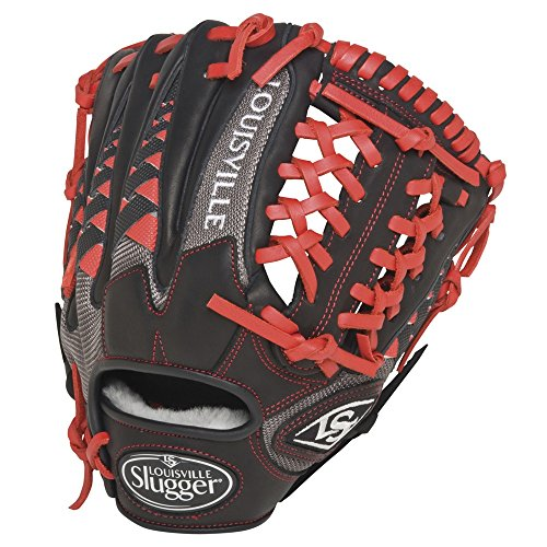 louisville-slugger-hd9-11-5-inch-baseball-glove-scarlet-right-hand-throw FGHD5-1150-ScarletRight Hand Throw Louisville New Louisville Slugger HD9 11.5 inch Baseball Glove Scarlet Right Hand Throw