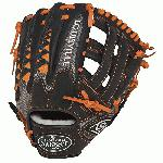 Louisville Slugger HD9 11.75 inch Baseball Glove Orange, Right Hand Throw