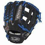 Louisville Slugger HD9 11.75 inch Baseball Glove (Royal, Right Hand Throw) : The HD9 Series is built with revolutionary hybrid leathermeshkanga weave construction for the lightweight performance and durability demanded by high-level players.  Offered in many colors, the HD9 series helps each player stand out on the field.