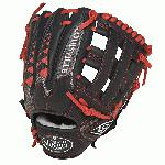 Louisville Slugger HD9 11.75 inch Baseball Glove Scarlet, Right Hand Throw