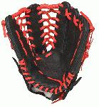Louisville Slugger HD9 12.75 inch Baseball Glove (Scarlet, Right Hand Throw) : Louisville Slugger HD9 12.75 inch outfield glove. The HD9 Series is built with revolutionary hybrid leathermeshkanga weave construction for the lightweight performance and durability demanded by high-level players.  Offered in many colors, the HD9 series helps each player stand out on the field.